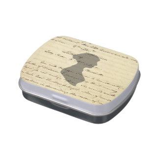 Jane Austen tin Jelly Belly Tins
