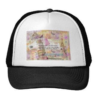 Jane Austen travel adventure quote Trucker Hat