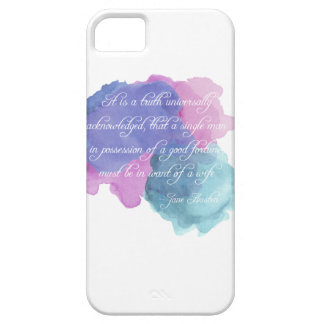 Jane Austen- Truth Universally Acknowledged iPhone SE/5/5s Case