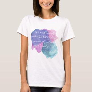 Jane Austen- Truth Universally Acknowledged T-Shirt