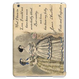Jane Austen: Vanity iPad Air Covers