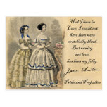 Jane Austen: Vanity Postcard