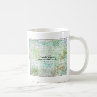Jane Austen whimsical quote Pride and Prejudice Coffee Mug
