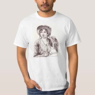 Jane Austen with a Smile T-Shirt