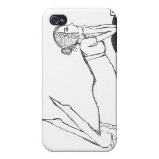 Jane Austen Writing iPhone 4 Cases