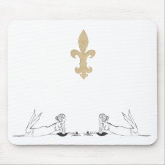 Jane Austen writing. Mousepads