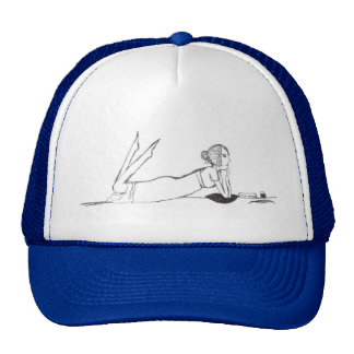 Jane Austen Writing Trucker Hat