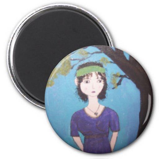Jane Austen's ball Refrigerator Magnet