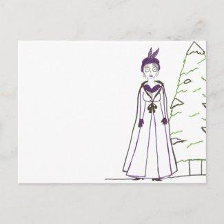 Jane Austen's Creepy Christmas Post Cards