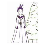 Jane Austen's Creepy Christmas Postcard