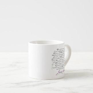 Jane Austen's Persuasion Quote #1 Espresso Mug