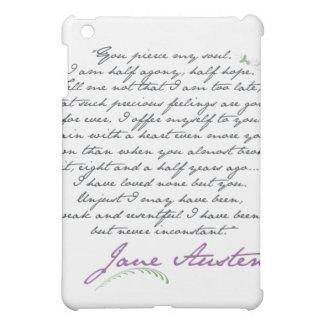 Jane Austen's Persuasion Quote #1 iPad Mini Covers