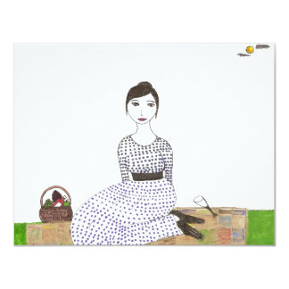 Jane Austen's Picnic Card