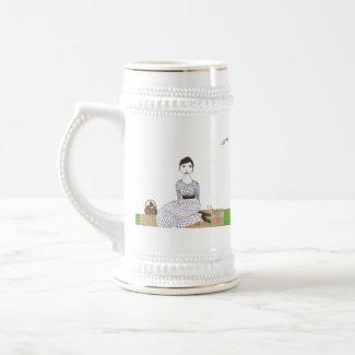 Jane Austen's Picnic mug
