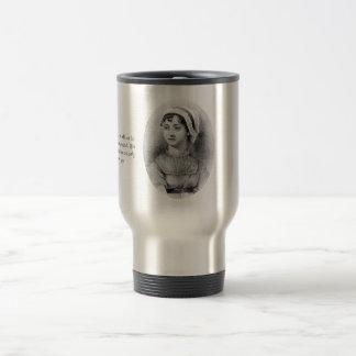 Jane Austen's Pride 15 Oz Stainless Steel Travel Mug