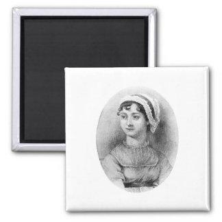 Jane Austen's Pride 2 Inch Square Magnet