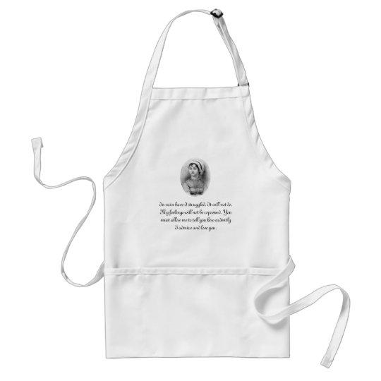 Jane Austen's Pride Adult Apron