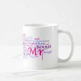 Jane Austen's Pride and Prejudice Coffee Mug