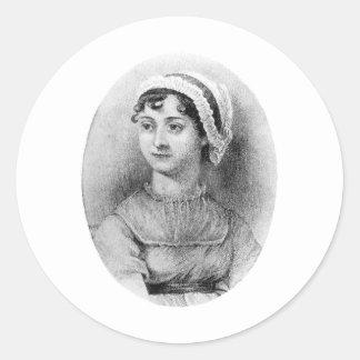 Jane Austen's Pride Classic Round Sticker