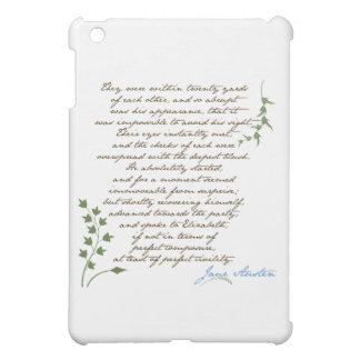 Jane Austen's Pride & Prejudice Quote #1 Cover For The iPad Mini