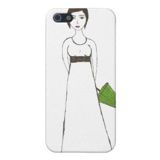 Jane Austen's rice Portrait Cover For iPhone SE/5/5s