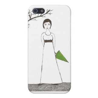 Jane Austen's rice Portrait iPhone SE/5/5s Cover