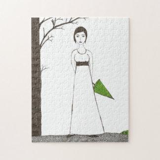 Jane Austen's rice portrait Jigsaw Puzzle