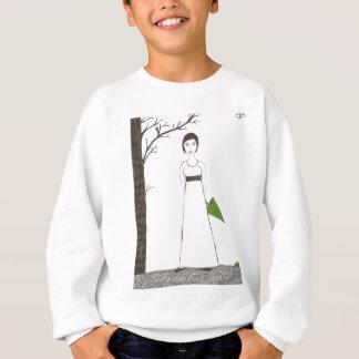 Jane Austen's rice Portrait Sweatshirt