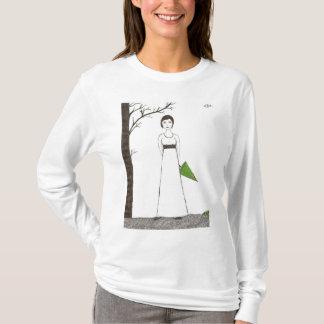 Jane Austen's rice Portrait T-Shirt