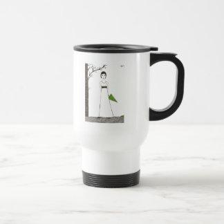 Jane Austen's rice Portrait Travel Mug