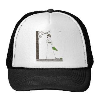 Jane Austen's rice Portrait Trucker Hat