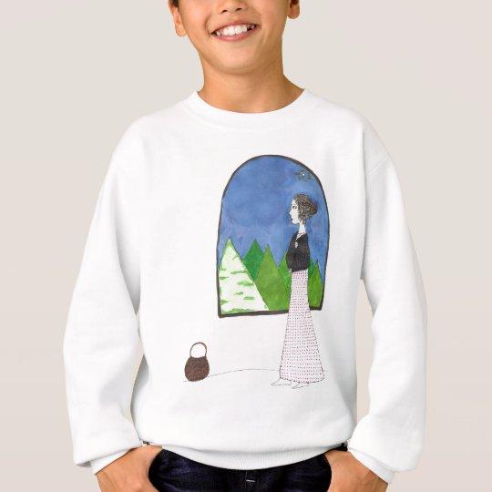 Jane Austen's Window Sweatshirt