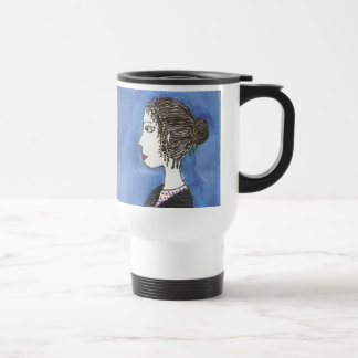 Jane Austen's Window Travel Mug