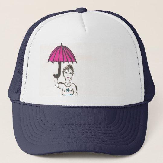 Jane Austen's World Trucker Hat