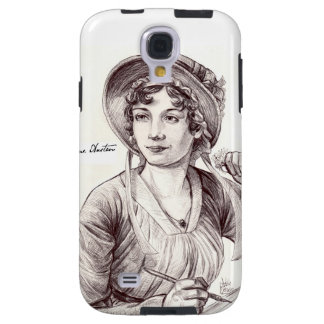Jane Austin with a Smile Galaxy S4 Case