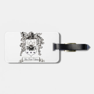 Jane Austin with a Smile Luggage Tag