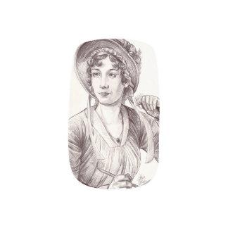Jane Austin with a Smile Minx® Nail Art