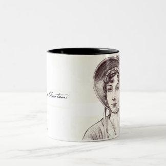 Jane Austin with a Smile Mug