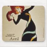 Jane Avril 1899 Alfombrillas De Ratones