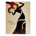 Jane Avril 1899 Postales