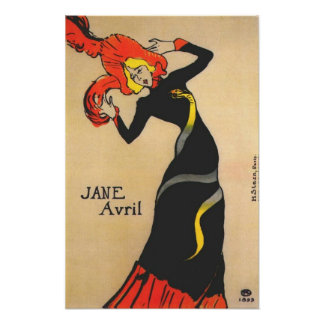 Jane Avril 1 Posters