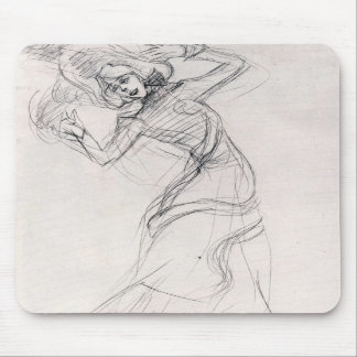 Jane Avril 4 by Toulouse-Lautrec Mousepad
