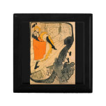 Jane Avril by Toulouse-Lautrec Keepsake Boxes