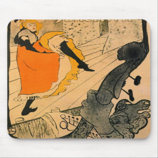 Jane Avril by Toulouse-Lautrec Mousepad