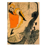 Jane Avril by Toulouse-Lautrec Postcard