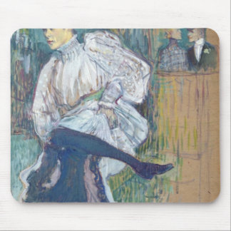 Jane Avril Dancing c 1892 Mouse Pads