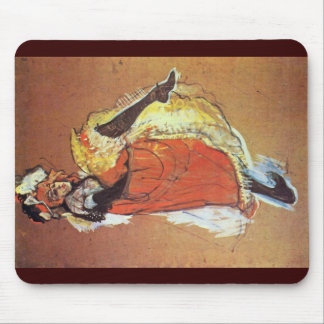 Jane Avril Dancing Study For The Poster Mousepad