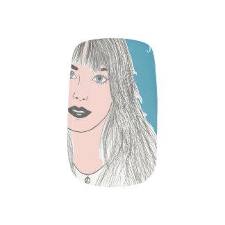 Jane B. Art Stickers Para Uñas