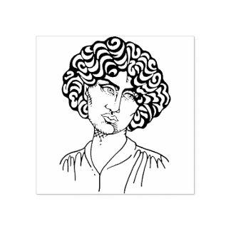Jane Burden Morris art stamp