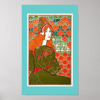 Jane by  Louis John Rhead Poster